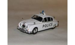 Jaguar MK II Полицейские машины мира Выпуск № 03, масштабная модель, 1:43, 1/43, DeAgostini
