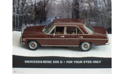 Mercedes-Benz 200D - For Your Eyes Only, масштабная модель, Universal Hobbies, scale43