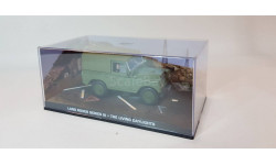 Land Rover Series III - The Living Daylights, масштабная модель, Universal Hobbies, scale43