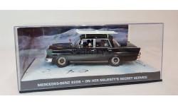Mercedes-Benz 220S - On Her Majesty's Secret Service, масштабная модель, Universal Hobbies, scale43