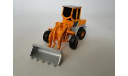 Погрузчик 1:60, масштабная модель трактора, Cararama