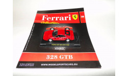 Ferrari 328 GTB 1985- Выпуск  № 39 Ferrari Collection, журнальная серия Ferrari Collection (GeFabbri), Ge Fabbri, scale43