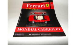 Ferrari Mondial Cabriolet - Выпуск  № 38 Ferrari Collection, журнальная серия Ferrari Collection (GeFabbri), 1:43, 1/43, Ge Fabbri