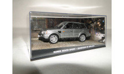 Range Rover Sport - Quantum of Solace, масштабная модель, 1:43, 1/43, Universal Hobbies