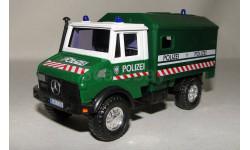 Mercedes Benz Unimog Polizei, масштабная модель, 1:50, 1/50, CARARAMA