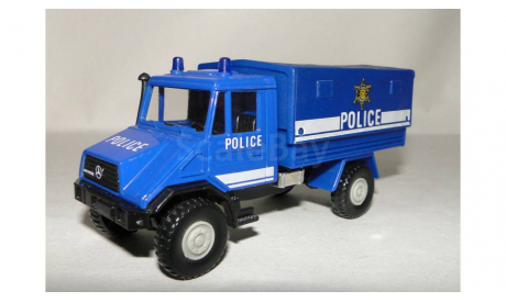 Mercedes Benz Unimog Police, масштабная модель, 1:43, 1/43, Welly
