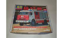 АЦ-3,2-40 (43253), сборная модель автомобиля, AVD Models, scale43, КамАЗ