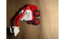 1/50 строительный погрузчик с бортовым поворотом Kempmann, масштабная модель трактора, 1:50, SIKU