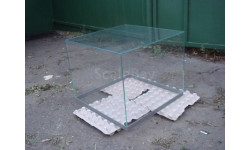 Стеклянный колпак витрины