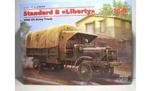 Грузовик времён Первой Мировой войны ISM #35650 1:35 'Standard B 'Liberty'WWI US Army Truck', сборная модель автомобиля, scale35