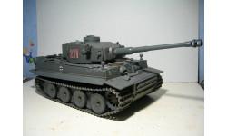 1/24 'VS Tank' German Tiger I Battle Tank радиоуправляемый танк с ИК пушкой, радиоуправляемая модель