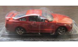 Ford Mustang GT, Суперкары № 28, 1:43. Журнал в наличии., масштабная модель, 1/43, Суперкары. Лучшие автомобили мира, журнал от DeAgostini