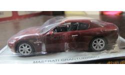 Maserati GranTurismo, Суперкары № 22, 1:43. Журнал в наличии., масштабная модель, 1/43, Суперкары. Лучшие автомобили мира, журнал от DeAgostini