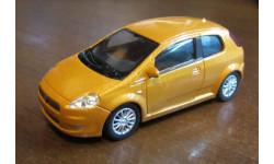 Fiat Grande Punto, Welly, 1:43, масштабная модель, scale43