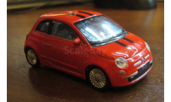 Fiat 500 - 2007, Welly, 1:43