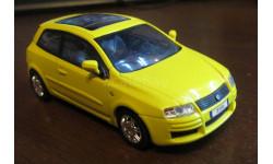 Fiat Stilo (жёлтый), Cararama, 1:43