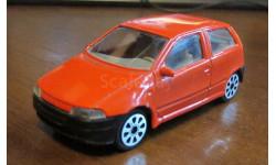 Fiat Punto, Burago, 1:43, масштабная модель, 1/43
