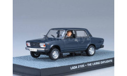 Lada 2105, The Living Daylights, журнальная серия The James Bond Car Collection (Автомобили Джеймса Бонда), ВАЗ, 1:43, 1/43