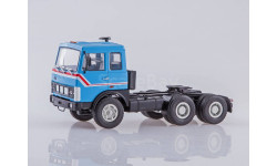 С РУБЛЯ!!! - МАЗ-6422 седельный тягач синий, масштабная модель, Автоистория (АИСТ), 1:43, 1/43