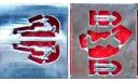 Фототравление Маскот 'Олень' для а/м Волга ГАЗ-21, фототравление, декали, краски, материалы, Ателье Etch models, scale43