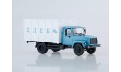 ГАЗ-3307 Фургон для перевозки хлеба, масштабная модель, Наши Грузовики, 1:43, 1/43