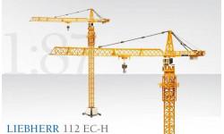 Модель башенного крана Liebherr 112 EC-Н