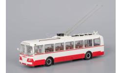 Троллейбус ЗиУ-5 2-й выпуск - Красный, масштабная модель, 1:43, 1/43, Classicbus