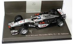 F1 Болид Формулы 1 - McLaren Mercedes MP 4/15 Mika Hakkinen