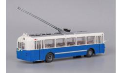 Троллейбус ЗиУ 5 3-й выпуск - Бело-синий, масштабная модель, 1:43, 1/43, Classicbus