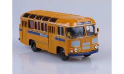Автобус ПАЗ-672М 'МИЛИЦИЯ', масштабная модель, Советский Автобус, 1:43, 1/43