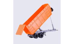 С РУБЛЯ!!! - полуприцеп-самосвал МАЗ-9506-30 оранжевый, масштабная модель, Автоистория (АИСТ), 1:43, 1/43