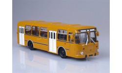 Автобус ЛиАЗ-677М (Охра - 1-й выпуск), масштабная модель, 1:43, 1/43, Советский Автобус