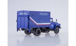 ЗиЛ-130 фургон с грузоподъёмным бортом У-165 'Почта России', масштабная модель, Автоистория (АИСТ), 1:43, 1/43