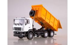 МАЗ-6501 самосвал белый/оранжевый