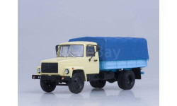 ГАЗ-33073 бортовой бежевый/синий