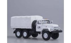 ЗиЛ-131 бортовой с тентом белый 'UN'