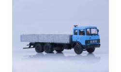 МАЗ-6303 бортовой голубой/серый, масштабная модель, Автоистория (АИСТ), 1:43, 1/43