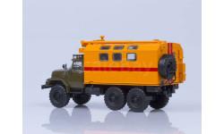 ЗиЛ-131 кунг МТО-АТ хаки/оранжевый