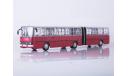 Автобус Икарус 280.33 красно-белый СОВА, масштабная модель, Ikarus, Советский Автобус, 1:43, 1/43