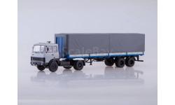 МАЗ-5432 с полуприцепом МАЗ-93971, масштабная модель, Автоистория (АИСТ), 1:43, 1/43