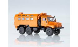 УРАЛ 4322 кунг оранжевый, масштабная модель, Автоистория (АИСТ), scale43