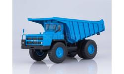 Углевоз-самосвал БЕЛАЗ-7527 (синий), масштабная модель, Наш Автопром, scale43