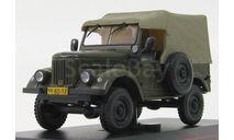 ГАЗ 69 темно зеленый - IST, масштабная модель, IST Models, scale43