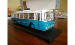 Троллейбус ЗиУ-5 1-й выпуск - Аквамарин, масштабная модель, 1:43, 1/43, Classicbus