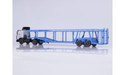МАЗ-5432 с полуприцепом-автовозом 934410 (А908), масштабная модель, Start Scale Models (SSM), 1:43, 1/43