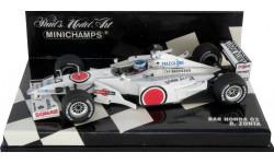 F1 Болид Формулы 1 - Bar Honda 02 Riccardo Zonta