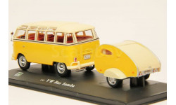 Volkswagen Bus Samba с прицепом-кемпером
