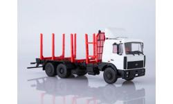 МАЗ-6303 сортиментовоз, масштабная модель, Автоистория (АИСТ), 1:43, 1/43