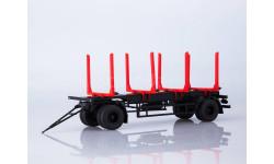 Прицеп МАЗ-83781 сортиментовоз, масштабная модель, Автоистория (АИСТ), scale43
