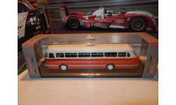 С РУБЛЯ!!! - автобус IKARUS-55 (Икарус 55) красный, масштабная модель, Classicbus, 1:43, 1/43